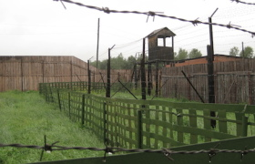 The_fence_at_the_old_GULag_in_Perm-36